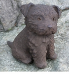 "Yorkshire Puppy Statue 7.5"" H"