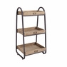 3-Tiered Bath Stand - Linon Home Decor - AHW801AS1