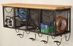 4-Basket Wall Organizer - Linon Home Decor - AMME4DRW1