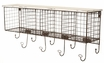 4-Cubby Wall Shelf in White - Linon Home Decor - AHWE1238W1