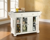 Alexandria Granite Top Kitchen Island - Crosley - KF30004AWH