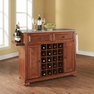 Alexandria Granite Top Wine Island in Cherry - Crosley - KF31003ACH