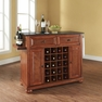 Alexandria Granite Top Wine Island in Cherry - Crosley - KF31004ACH