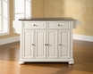 Alexandria Kitchen Island in White - Crosley - KF30002AWH