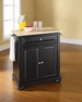 Alexandria Portable Kitchen Island - Crosley - KF30021ABK