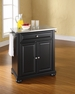 Alexandria Portable Kitchen Island - Crosley - KF30022ABK