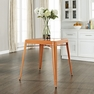 Amelia Metal Cafe Table in Orange - Crosley - CF220130-OR