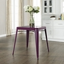 Amelia Metal Cafe Table in Purple - Crosley - CF220130-PR