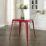 Amelia Metal Cafe Table in Red - Crosley - CF220130-RE
