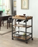 Austin Kitchen Cart - Linon Home Decor - 464908MTL01U