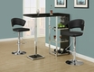 Bar Table Glossy Black - Monarch - I 2342