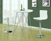 Bar Table Glossy White 36 inches - Monarch - I 2346