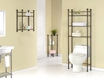 "Bathroom Accent 26"" in Bronze Metal w/ Tempered Glass - Monarch - I 3422"