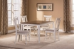Bayberry / Embassy Round Dining Table - White - Hillsdale - 5753DTB
