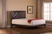 Becker Full Bed Set w/ Rails - Hillsdale - 1292BFRB