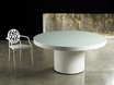 Berkeley 71 Dining Table - White on White Lacquer - MJM191PA-L6V6 - MODLOFT
