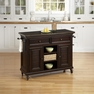 Bermuda Espresso Kitchen Cart - Home Styles - 5542-95