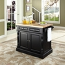 Butcher Block Kitchen Island - Crosley - KF30006BK