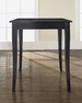 Cabriole Leg Pub Table in Black - Crosley - KD20001BK