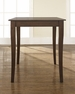 Cabriole Leg Pub Table in Mahogany - Crosley - KD20001MA