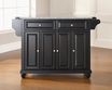 Cambridge Granite Top Kitchen Island - Crosley - KF30003DBK