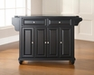 Cambridge Granite Top Kitchen Island - Crosley - KF30004DBK