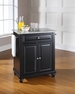 Cambridge Granite Top Portable Kitchen Island - Crosley - KF30023DBK