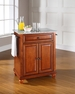 Cambridge Granite Top Portable Kitchen Island - Crosley - KF30023DCH