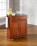 Cambridge Granite Top Portable Kitchen Island - Crosley - KF30024DCH