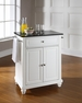 Cambridge Granite Top Portable Kitchen Island - Crosley - KF30024DWH