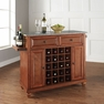 Cambridge Granite Top Wine Island in Cherry - Crosley - KF31003DCH