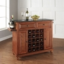 Cambridge Granite Top Wine Island in Cherry - Crosley - KF31004DCH