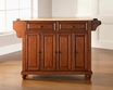 Cambridge Kitchen Island in Cherry - Crosley - KF30001DCH