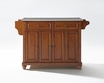 Cambridge Kitchen Island in Cherry - Crosley - KF30002DCH