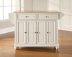 Cambridge Kitchen Island in White - Crosley - KF30001DWH