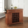 Cambridge Stainless Steel Wine Island in Cherry - Crosley - KF31002DCH
