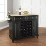 Cambridge Wine Island in Black - Crosley - KF31001DBK