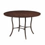 Cameron Metal Dining Table w/Wood Top - Hillsdale - 4671DTB