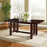 Cappuccino Wood Dining Table - Walker Edison - TW60MCNO
