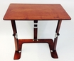 Couch Desk Tray Table in Mahogany - Spiderlegs - cd1624-m