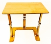 Couch Desk Tray Table in Warm Oak - Spiderlegs - cd1624-wo