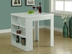 Counter Height Table White Hollow-Core - Monarch - I 1345