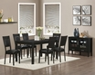 Dining Table Cappuccino Ash Veneer - Monarch - I 1491