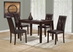Dining Table Cappuccino Veneer - Monarch - I 1180