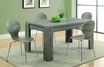 Dining Table Dark Taupe - Monarch - I 1055