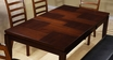 Dining Table Espresso - Monarch - I 1866