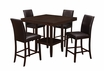 Dining Table in Cappuccino (Counter Height) - Monarch - I 1900