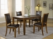 Dining Table Walnut Ash Veneer - Monarch - I 1892