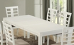 Dining Table White Veneer - Monarch - I 1956