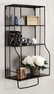 Distressed Wall Storage Organizer - Linon Home Decor - AMMESHELFW1